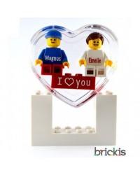 LEGO® sleutelhanger met naam