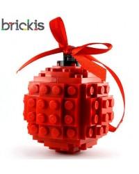 LEGO ®  sleutelhanger donker paars