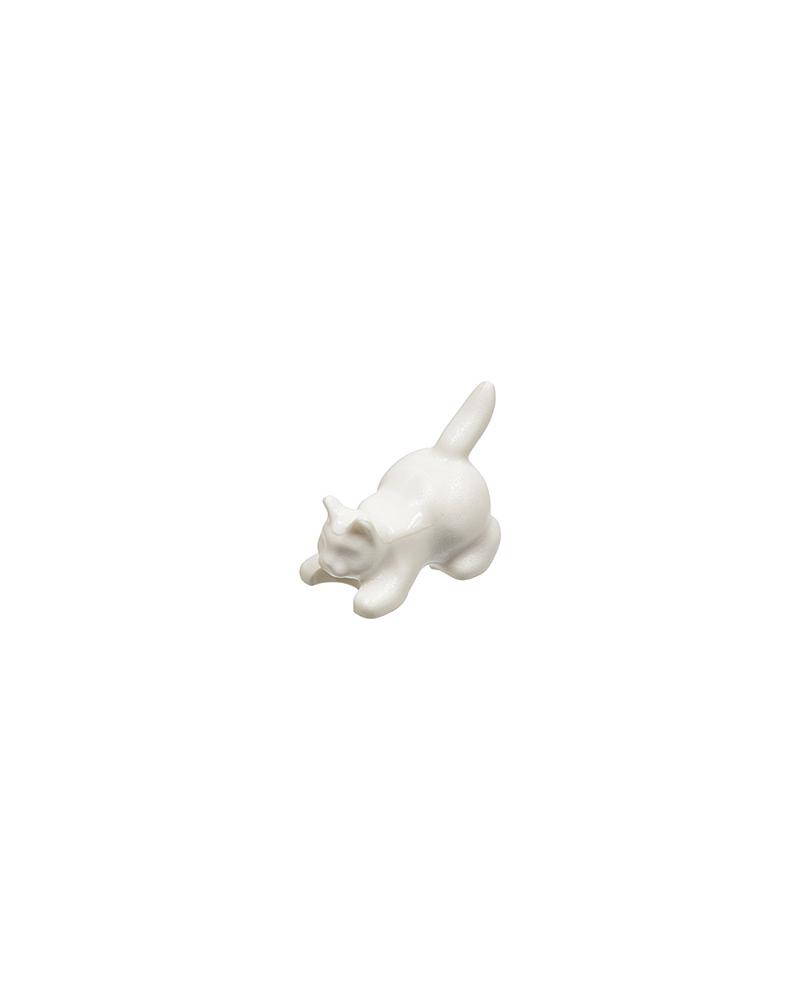 LEGO weiße Katze