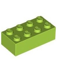 NEW - LEGO ® 2x4 lemon green