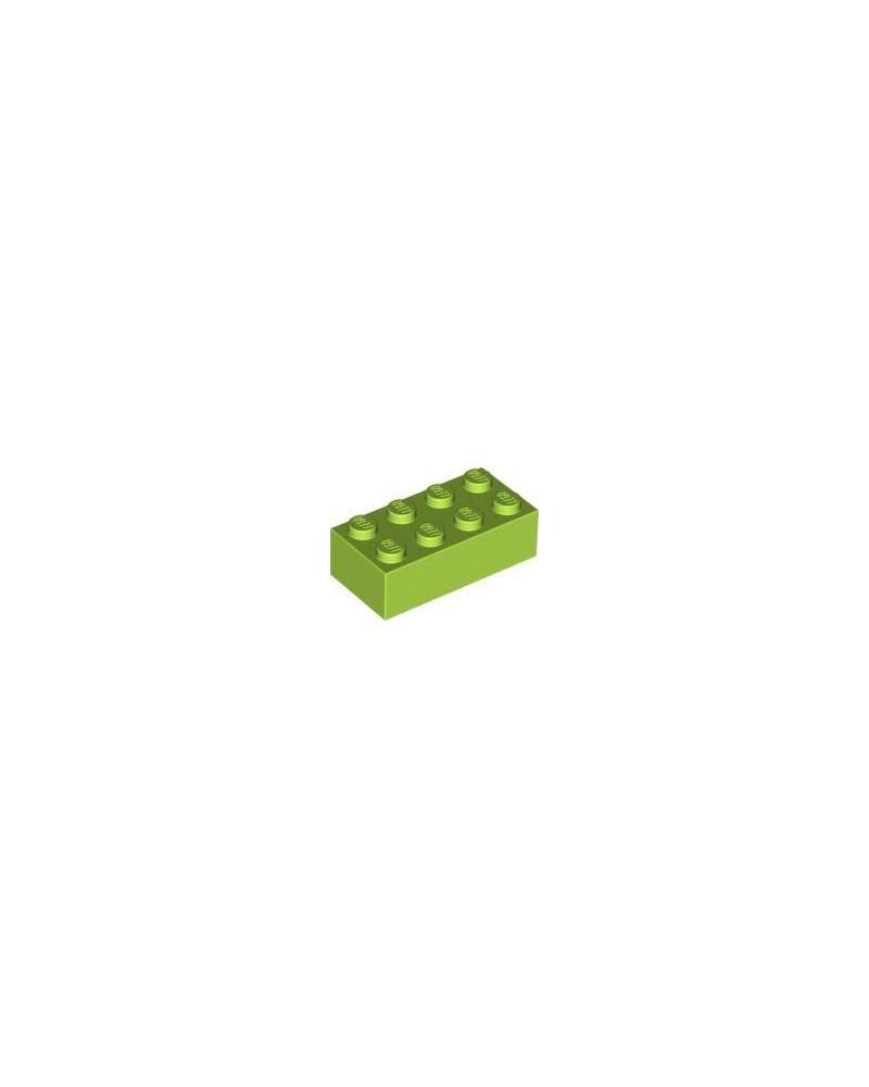 NIEUW - LEGO ® 2x4 limoen groen