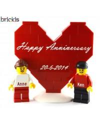 LEGO® huwelijksverjaardag set