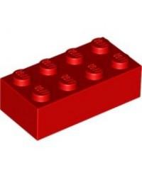 LEGO ® 2x4 rood