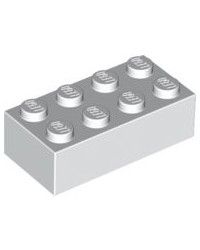 LEGO ® 2X4 blanc