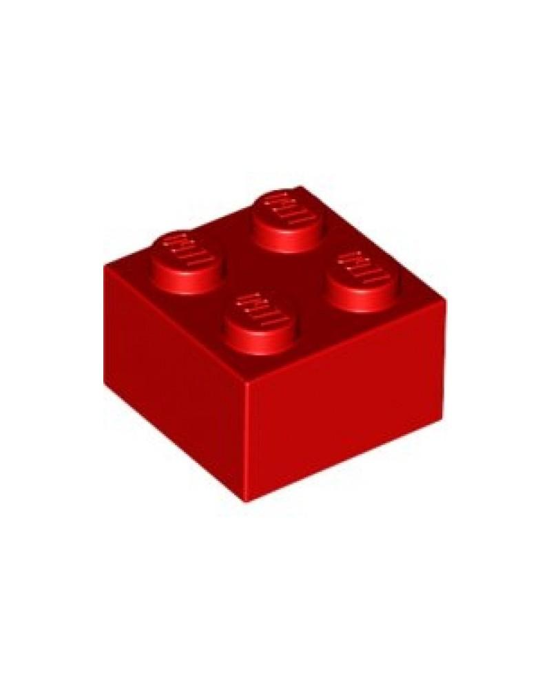 LEGO ® 2x2 rood