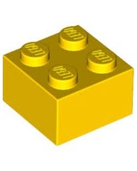 LEGO ® 2X2 jaune