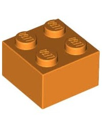 LEGO ® 2x2 Orange