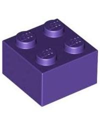 LEGO ® 2x2 Dunkelviolett