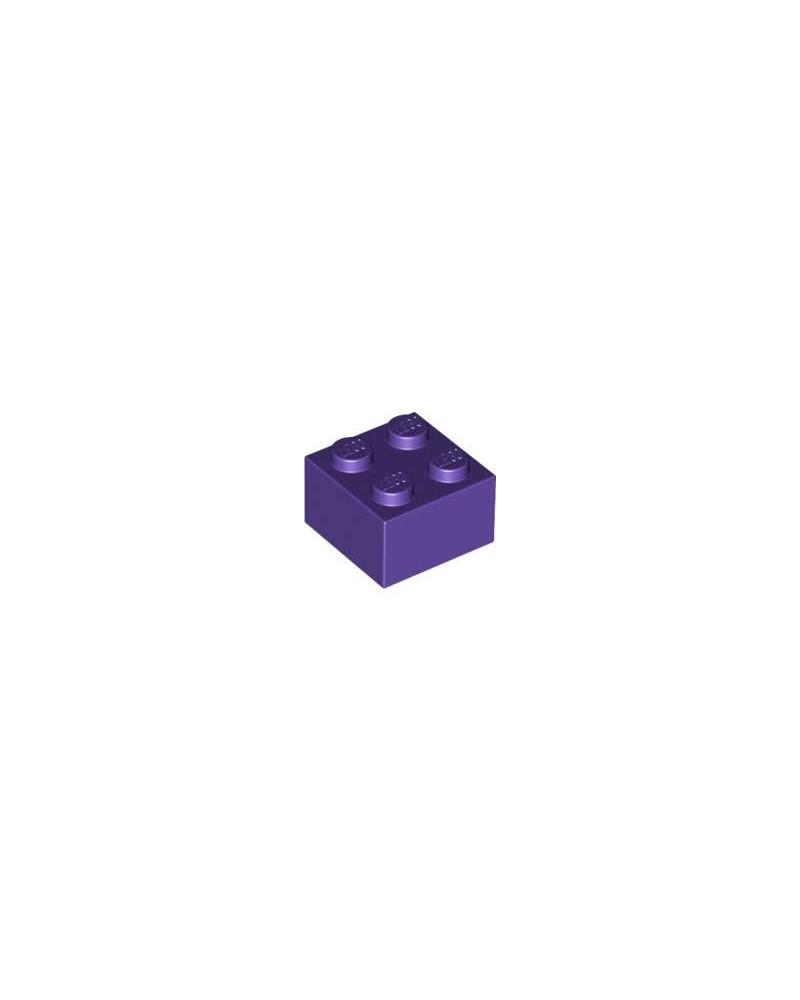 LEGO ® 2X2 violet foncé