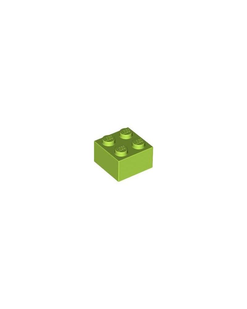 LEGO ® 2x2 limoen groen