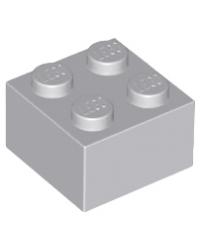 LEGO ® 2x2 licht blauw grijs