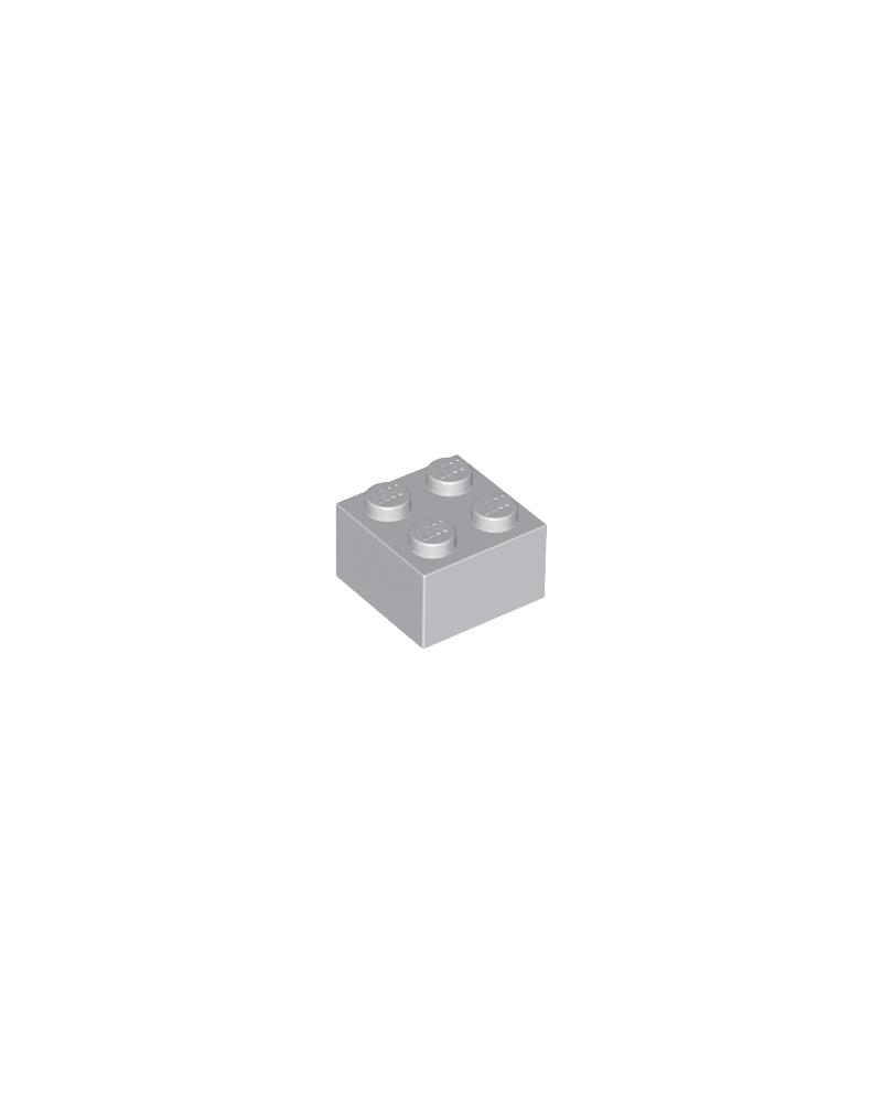 LEGO ® 2x2 light bluish grey