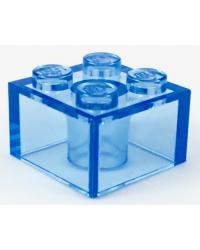 LEGO ® 2x2 transparent blau