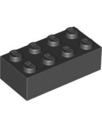 LEGO® 2x4 black