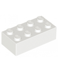 LEGO® 2x4 white