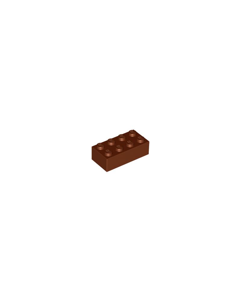 LEGO® 2x4 reddish brown
