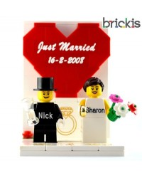 LEGO® wedding caketopper