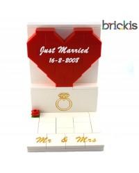 Figuras LEGO® adorno para tarta - pastel de bodas.