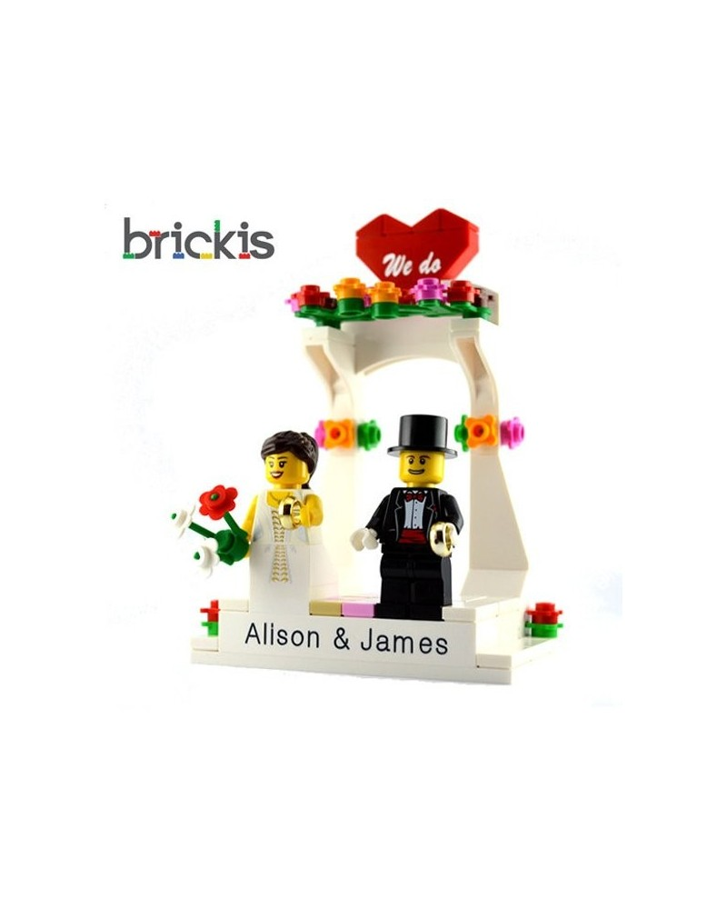 Adorno de tarta LEGO® Matrimonio
