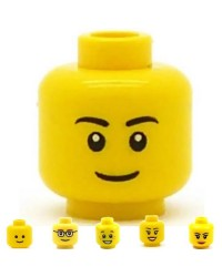 LEGO® minifigures head boy or girl
