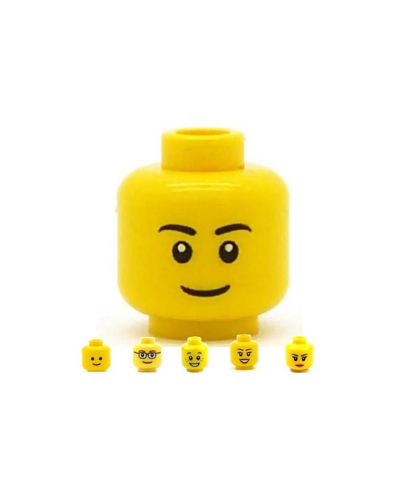 LEGO® minifigures head boy or girl