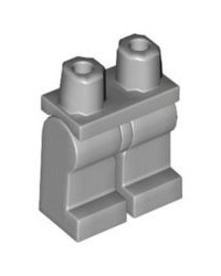 LEGO® parts minifigure legs light bluish grey