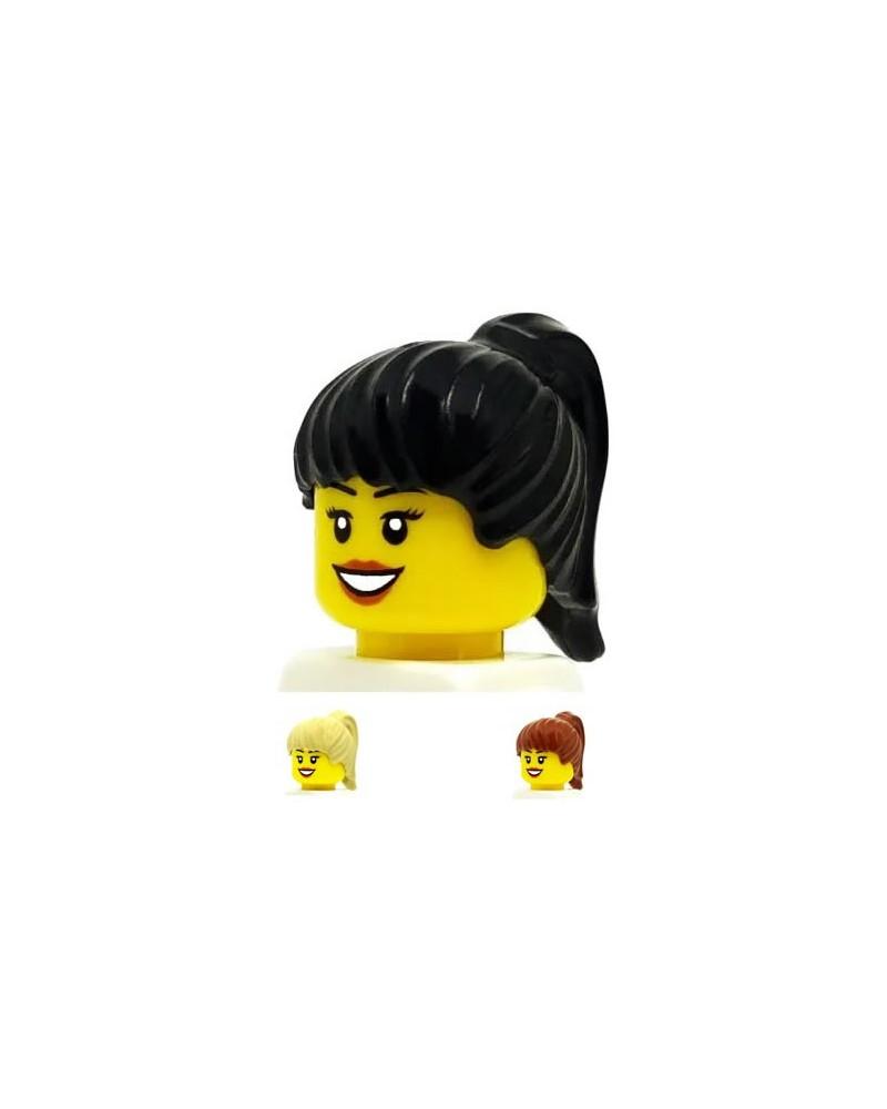 LEGO® minifiguren haar meisje zwart