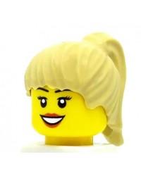 LEGO® cheveux minifigures fille blonde