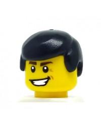 LEGO® Haar man zwart voor minifiguren 3901