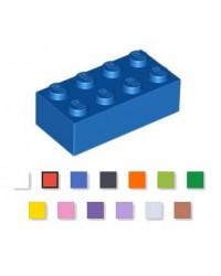 LEGO® 2x4 steen blauw