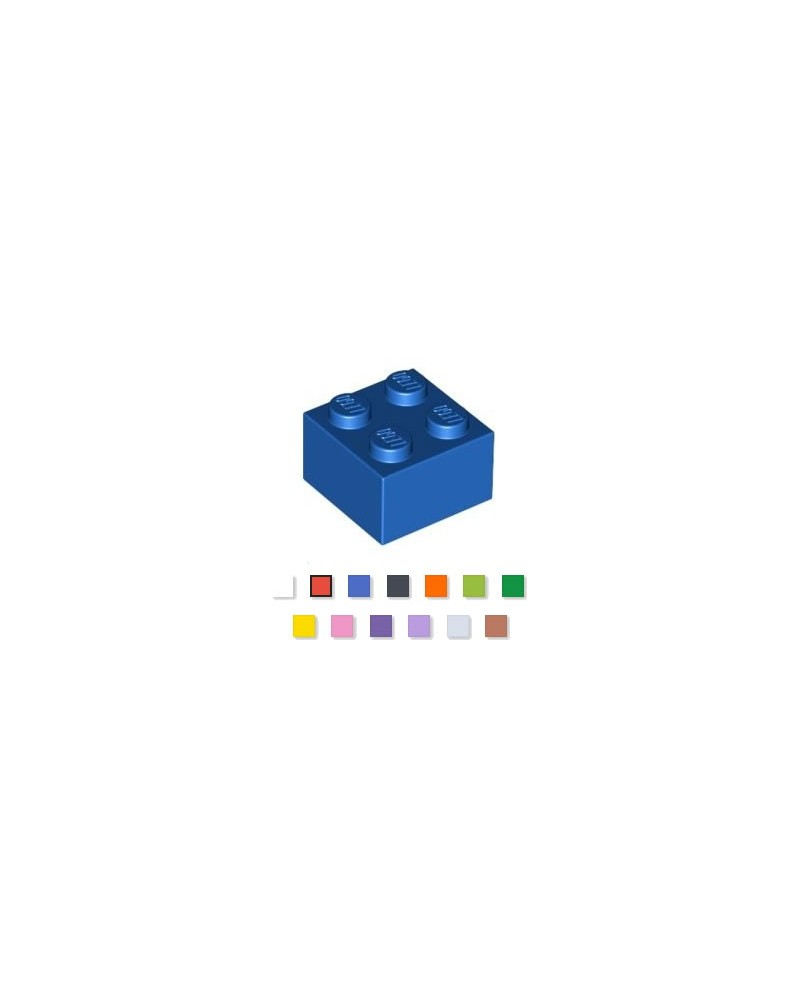 LEGO® 2x2 choisissez votre couleur