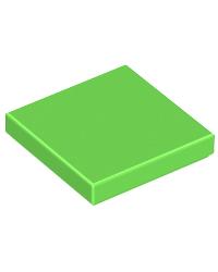 LEGO® Tile 2X2 vert limon