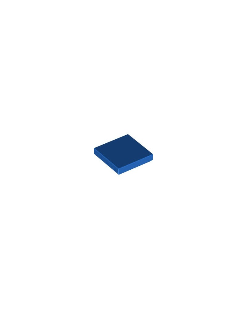 LEGO® Tile 2x2 Blau