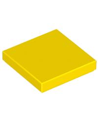 LEGO® Tile 2x2 geel