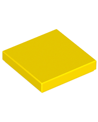 LEGO® Tile 2x2 yellow