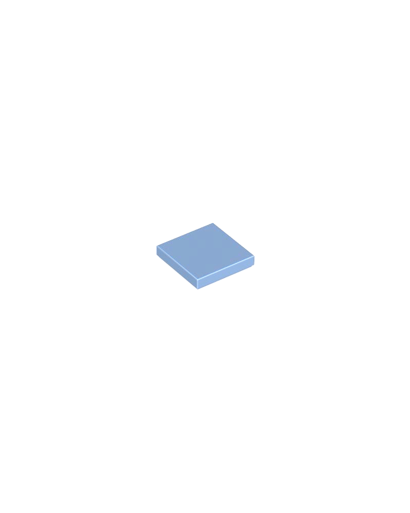 LEGO® Tile 2x2 medium Blau
