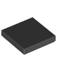 LEGO® Tile 2x2 black