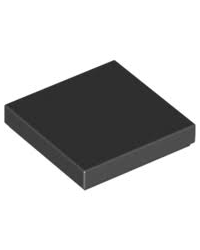 LEGO® Tile 2X2 noir
