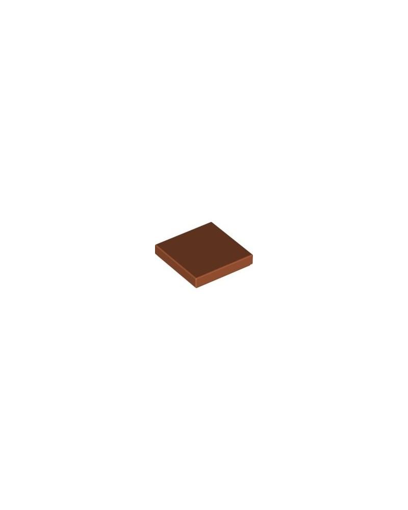 LEGO® Tile 2X2 brun