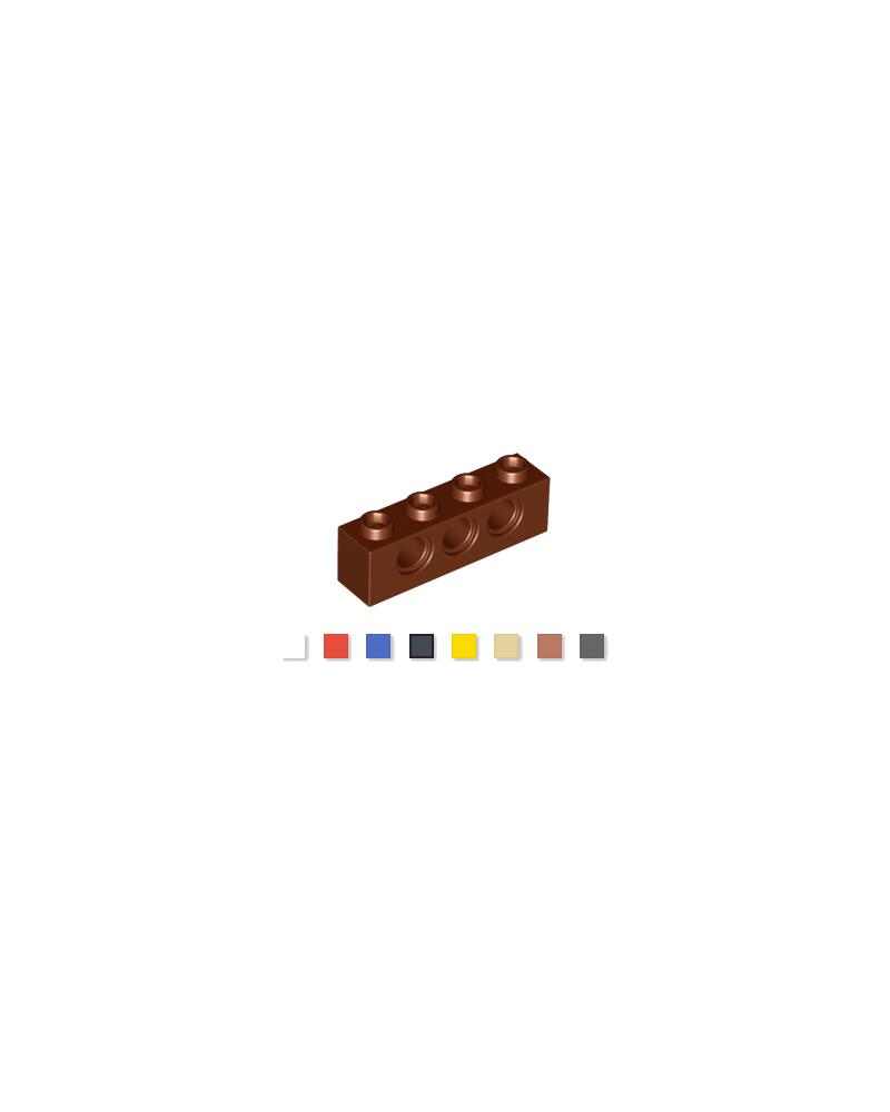 LEGO® Technic 1x4 reddish brown