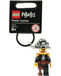 LEGO ® keychain pirate captain