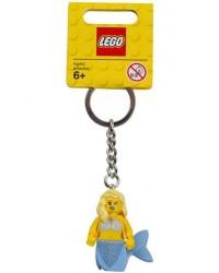 LEGO® keychain mermaid