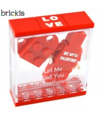 Caja cubo LEGO® San Valentín