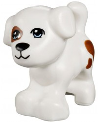 LEGO® Friends dog white