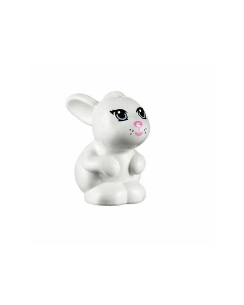 LEGO® Friends white rabbit bunny 98387pb01