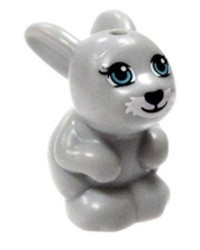 Lapin gris LEGO® Friends