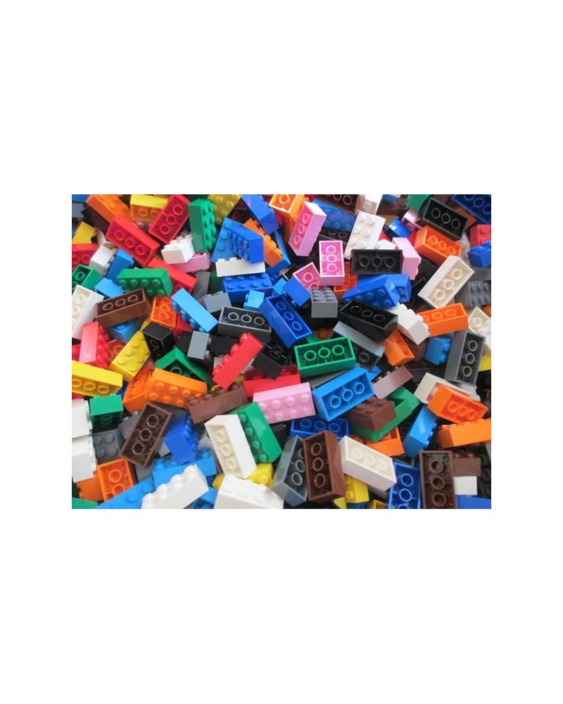 NIEUW - 2x4 LEGO® 50 stenen