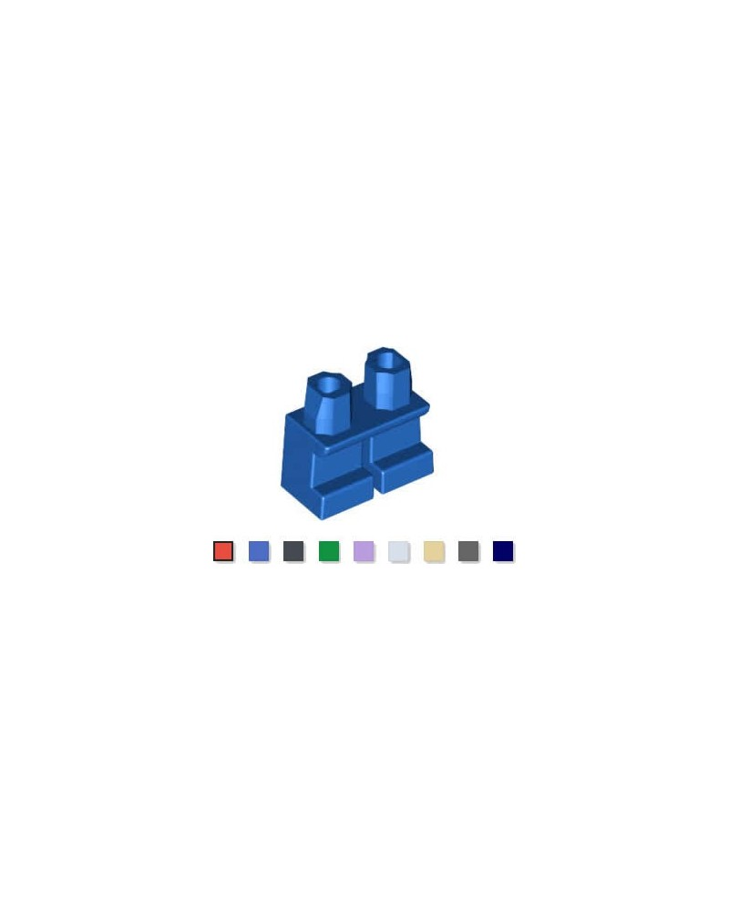 LEGO® piernas cortas para minifiguras