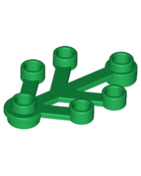 LEGO® Pflanzenblätter 4x3