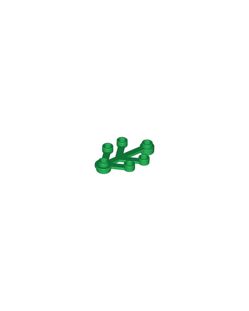 Hojas de plantas LEGO® 4x3